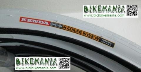 Bicibikemania - Cubierta fixie kenda Kontender  - bicicletas Bikemania La Felguera Asturias