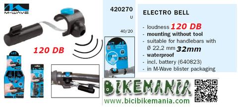Bicibikemania - timbre electronico M Ware - bicicletas Bikemania La Felguera Asturias