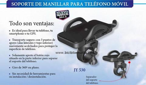 Bicibikemania - soporte telefono al manillar TKX - bicicletas Bikemania La Felguera Asturias