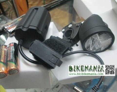 Bicibikemania - foco delantero  3 w TKX . - bicicletas Bikemania La Felguera Asturias