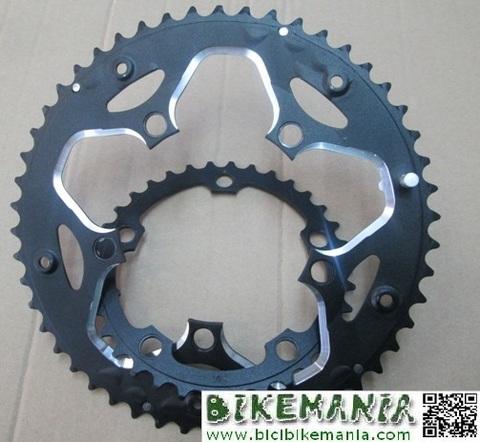 Bicibikemania - Par de platos compact 34 50 dientes - bicicletas Bikemania La Felguera Asturias
