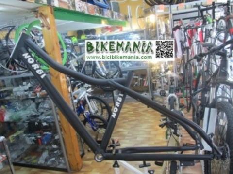 Bicibikemania - cuadro fat bike Norbi en aluminio   - bicicletas Bikemania La Felguera Asturias