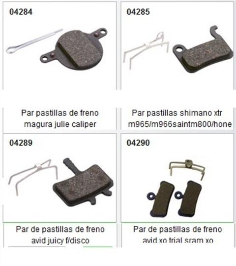 Bicibikemania - Pastillas de disco - bicicletas Bikemania La Felguera Asturias