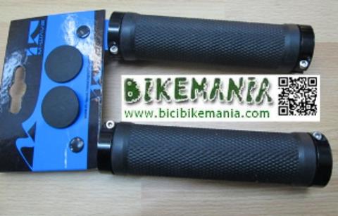 Bicibikemania - puños M Ware doble abrazadera - bicicletas Bikemania La Felguera Asturias