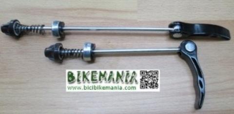 Bicibikemania - cierre rapido rueda  aluminio - bicicletas Bikemania La Felguera Asturias