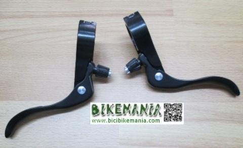 Bicibikemania - manetas de freno ciclocross fixie 22,2mm - bicicletas Bikemania La Felguera Asturias