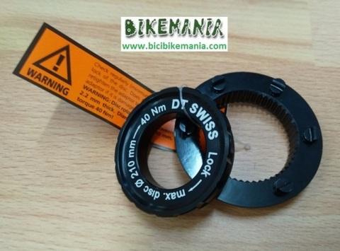 Bicibikemania - Adaptador DT Swiss disco 6 tornillos en center lock - bicicletas Bikemania La Felguera Asturias