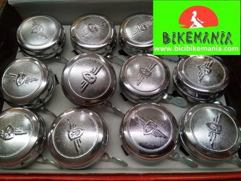 Bicibikemania - Timbre Nortech escudo clasico - bicicletas Bikemania La Felguera Asturias