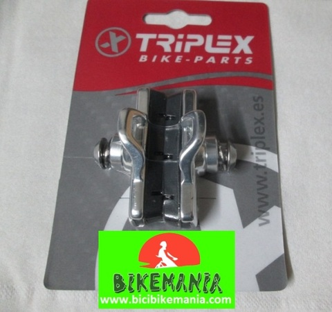 Bicibikemania - Zapatas Triplex para Campagnolo - bicicletas Bikemania La Felguera Asturias