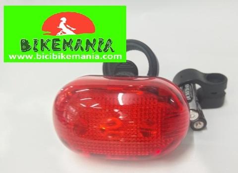 Bicibikemania - foco BTA trasero led  - bicicletas Bikemania La Felguera Asturias