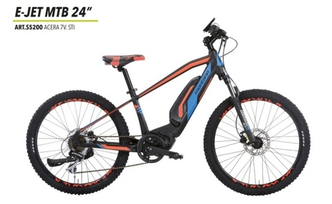Bicibikemania - MONTANA E-JET MTB 24 - bicicletas Bikemania La Felguera Asturias