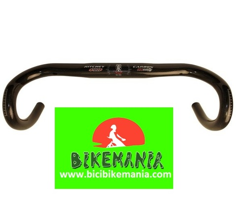 Bicibikemania -  Manillar carretera  carbono Ritchey Pro Evolution - bicicletas Bikemania La Felguera Asturias
