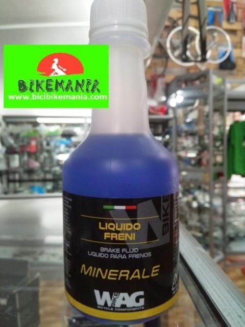 Bicibikemania - Aceite mineral freno WAG 250ml - bicicletas Bikemania La Felguera Asturias