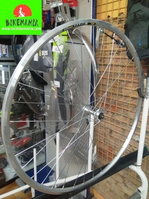 Bicibikemania - rueda carretera delantera Mirage 700c - bicicletas Bikemania La Felguera Asturias