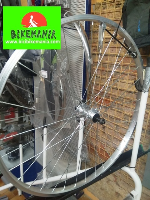 Bicibikemania - Rueda carretera trasera Mirage 700c - bicicletas Bikemania La Felguera Asturias