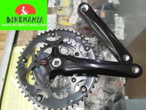 Bicibikemania - bielas carretera Prowheel compact cuadradillo - bicicletas Bikemania La Felguera Asturias