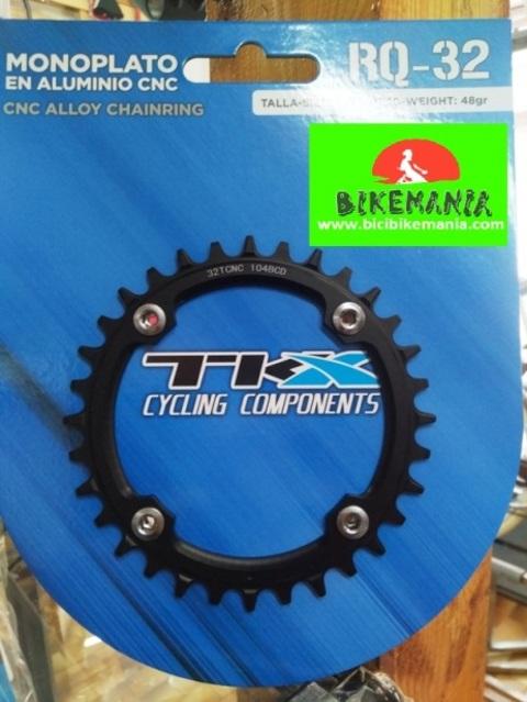 Bicibikemania -  plato TKX 32 monoplato 104 - bicicletas Bikemania La Felguera Asturias