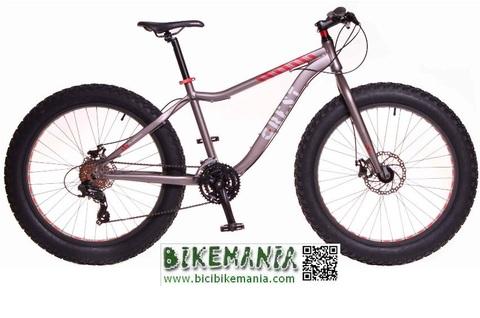 Bicibikemania - bicicleta crest FATbike 4.1 gris - bicicletas Bikemania La Felguera Asturias