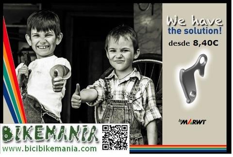 Bicibikemania - Patillas cambio Union - bicicletas Bikemania La Felguera Asturias