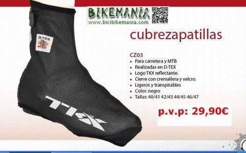 Bicibikemania - cubre zapatillas TKX - bicicletas Bikemania La Felguera Asturias
