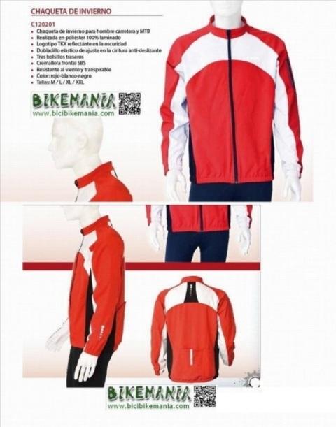 Bicibikemania - chaqueta invierno TKX OFERTA  - bicicletas Bikemania La Felguera Asturias