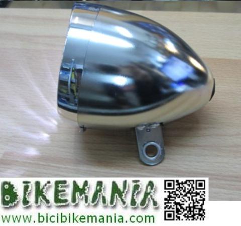 Bicibikemania - foco clasico 3 leds  - bicicletas Bikemania La Felguera Asturias