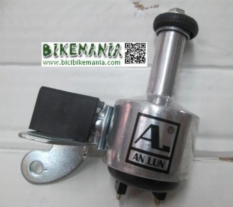Bicibikemania - dinamo Anlum posicion derecha delantera, posicion izquierda trasera  - bicicletas Bikemania La Felguera Asturias