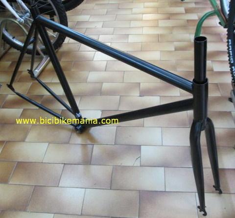 Bicibikemania - cuadro y horquilla fixie  - bicicletas Bikemania La Felguera Asturias